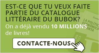 Est-ce que tu veux faite partie du catalogue littéraire du Bubok?