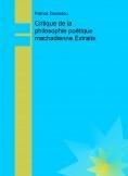 Critique de la philosophie poétique machadienne.Extraits.