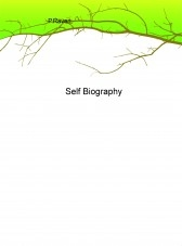 Libro Self Biography, autor PeterTRaven