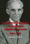 LE JUIF INTERNATIONAL - Le plus grand problème du monde (ed. 1920)