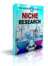 Libro The Insiders Guide To Niche Research, autor Luis Azuaje Brito