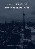 1200 TESTS DE PHARMACOLOGIE